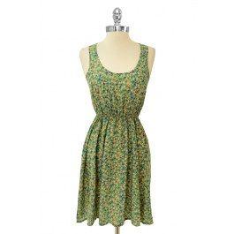 Robe Pop Florale - Robes - Vêtements Magasin en Ligne : Boutique Onze : Montréal Québec, Canada