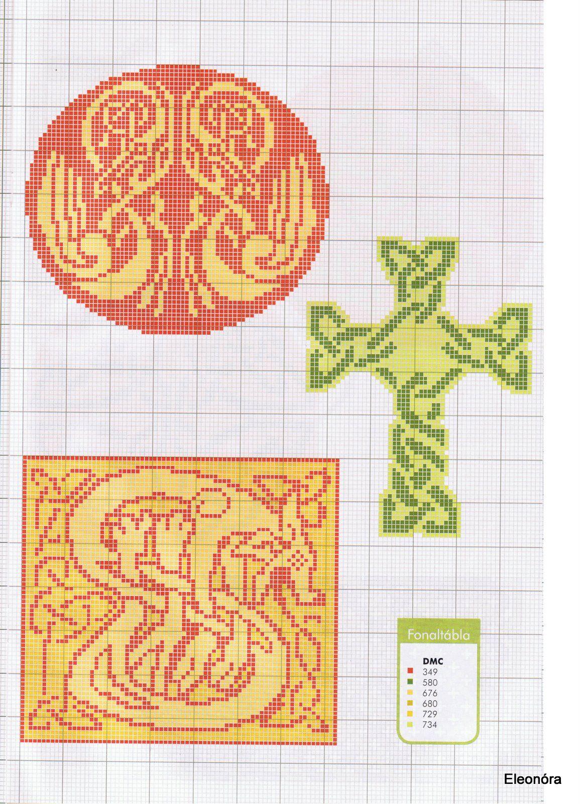 Celtic Motifs   X-stitch Ireland   Pinterest   Celta, Punto de cruz ...