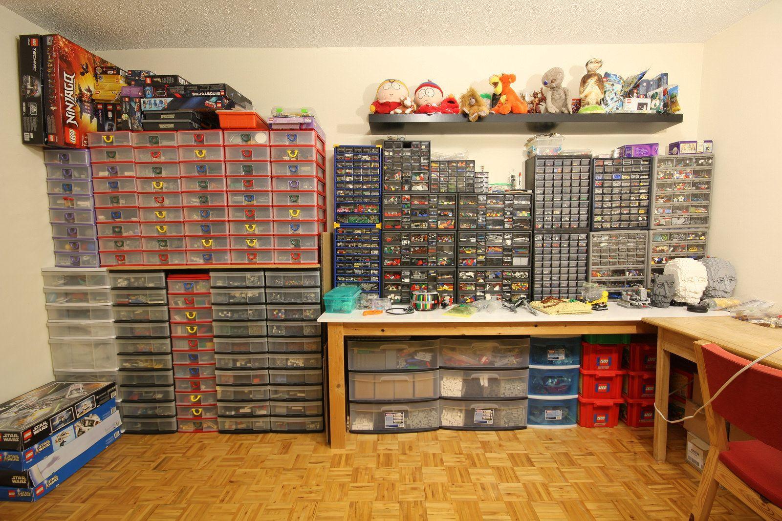 The End Of An Era Lego Room Room Tour Lego Organization