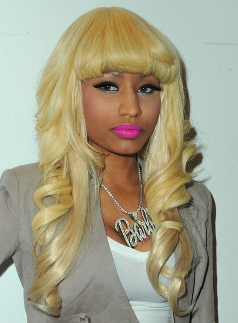 Nicki Minaj Lovely Blonde Polished Fluffy Long Wave Top Quality