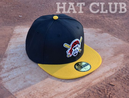 Custom Pittsburgh Pirates 59fifty Fitted Cap By New Era Hat Club