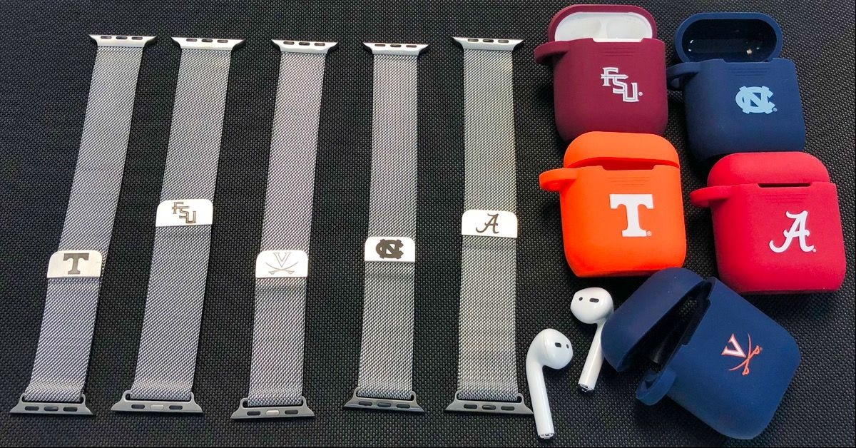 Cool College Swag. Stainless Steel Watchbands for Apple