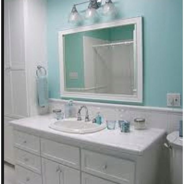 10 Beautiful Bathroom Makeovers Bagno Verde Acqua Bagno Verde Bagni Verde Acqua