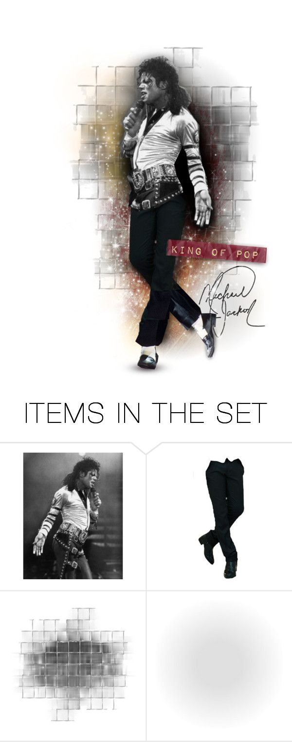 """""""The King of Pop!"""" by jacknthebeansdog ❤ liked on Polyvore featuring art"""