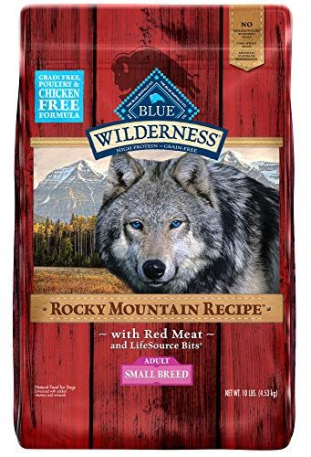 Blue Buffalo Wilderness Rocky Mountain Recipe High Protein Grain Free Natural Adult Small