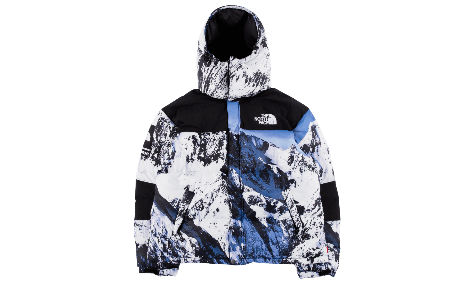 The North Face x Supreme Mountain Baltoro jacket is a highly