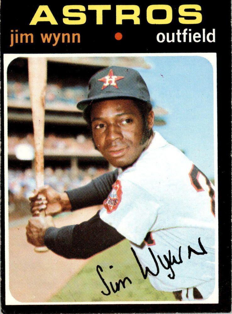 1971 topps 565 jim wynn ex d341519 baseball cards for