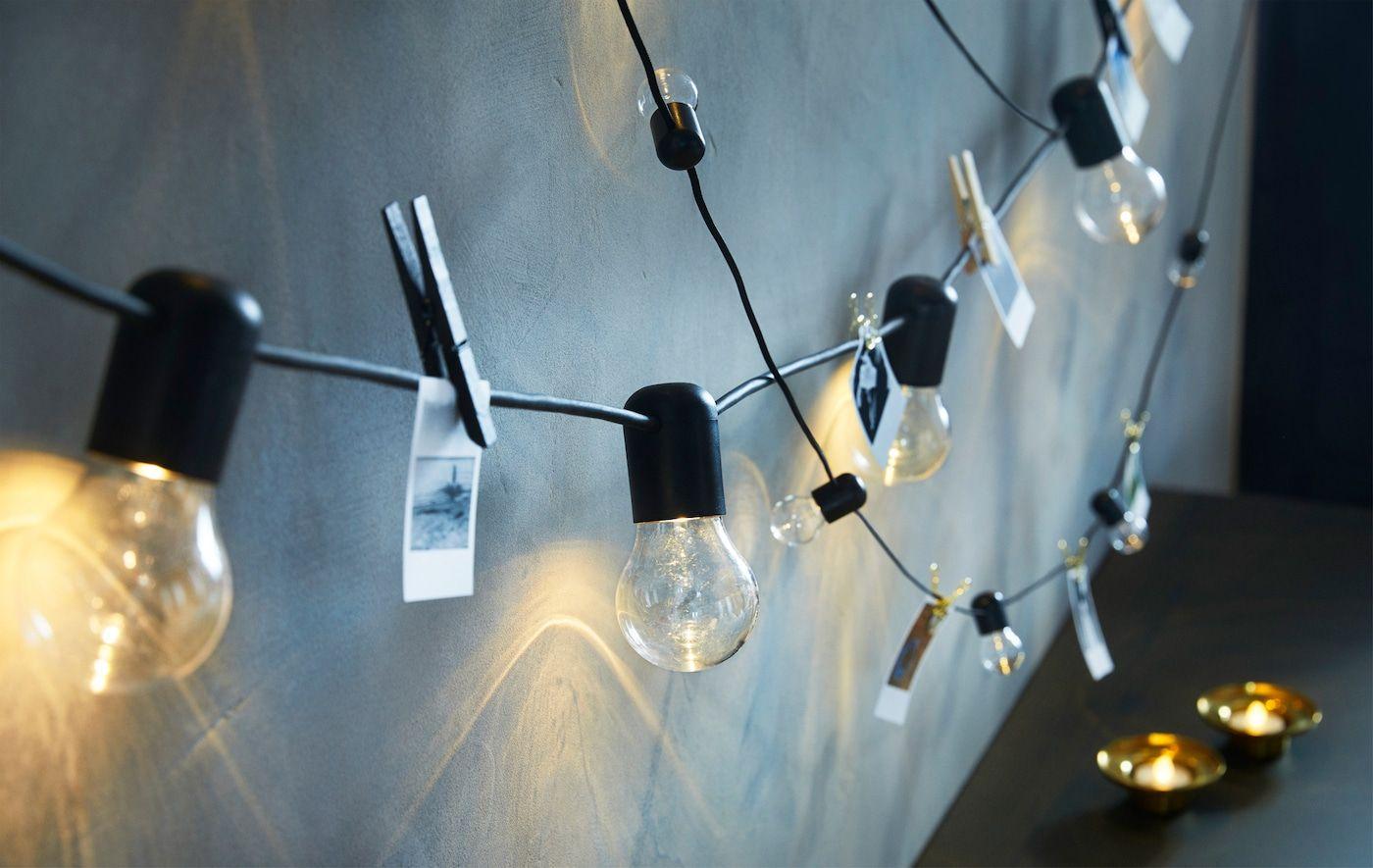 Nos Astuces Et Idees Deco Guirlande Lumineuse Ikea Guirlande Lumineuse Guirlande Lumineuse Exterieur