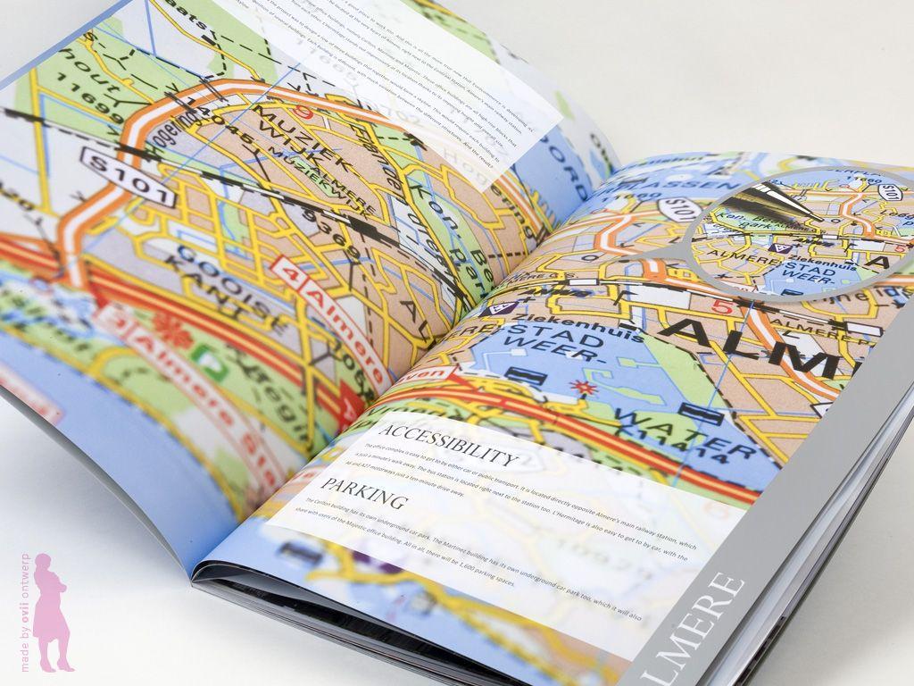 Binnenzijde boek/folder voor Eurocommerce Projectontwikkeling