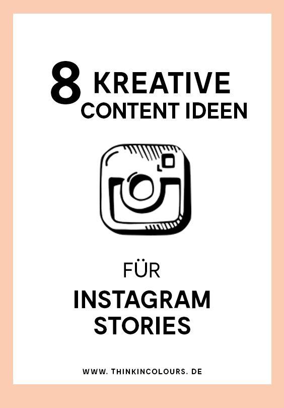 10 Kreative Möglichkeiten für Instagram Stories