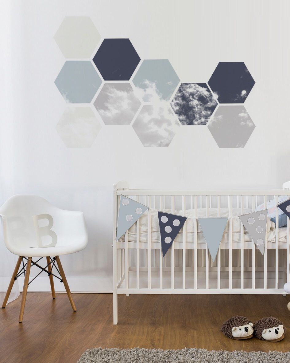 Exceptional Nursery Wall Decal, Removable Geometric Wall Art, Unique Self Adhesive  Stickers