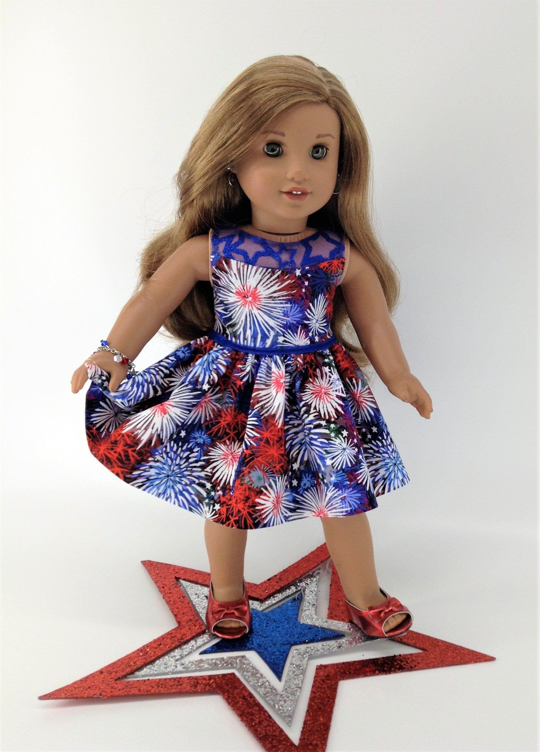 SEWING PATTERN MAKE DOLL CLOTHES FITS AMERICAN GIRL MCKENNA~MARISOL~JULIE!
