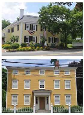 Federal style homes in newburyport ma historic new - Federal style interior paint colors ...