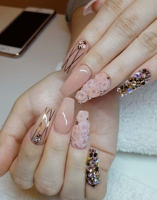 Stunning Nail Art Designs 2018 Uñas Naturales Decoradas