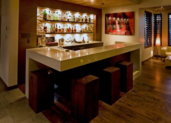 50 Man Cave Bar Ideas To Slake Your Thirst - Manly Home Bars | Bar ...