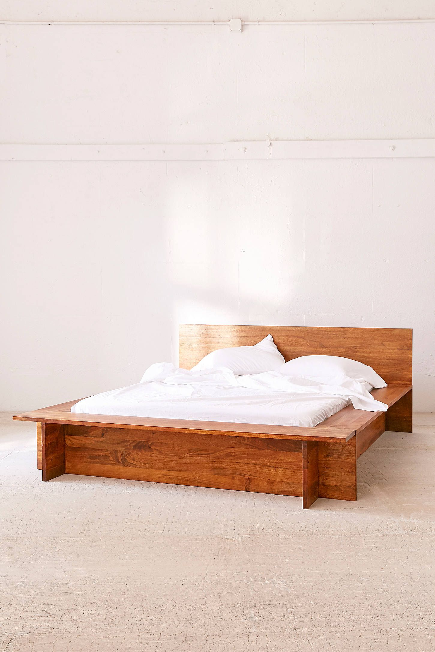 Modern Boho Media Stand   Boho bed frame, Platform bed ... on Modern Boho Bed Frame  id=25096