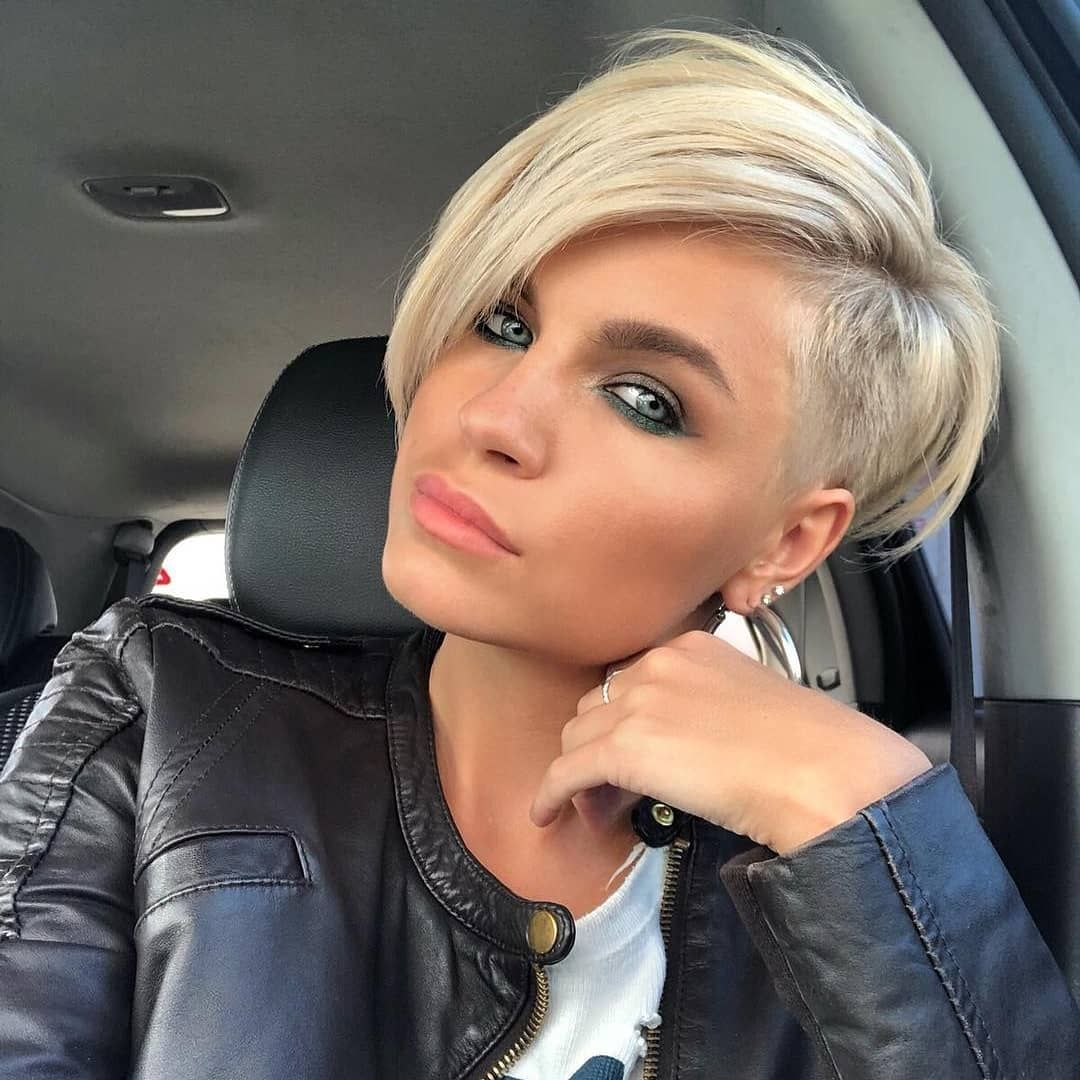 Hot Short Hairstyles For Women In 2019 Beautifulhairstyles Shorthair Shorthaircut Shorthairsty Short Hair Haircuts Short Hair Undercut Short Blonde Hair