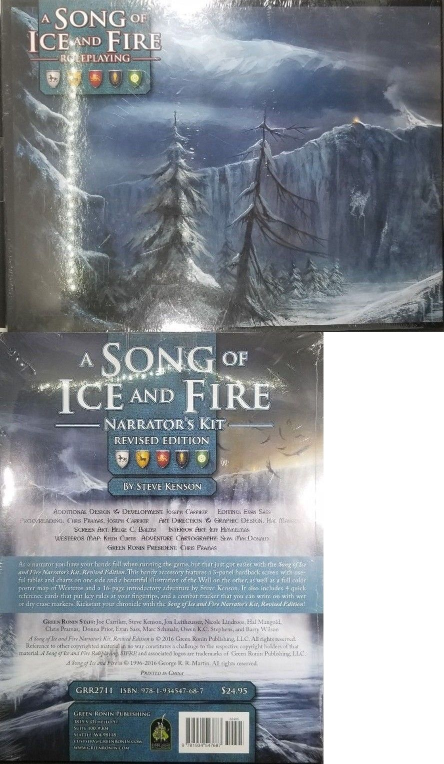 Fantasy 44111 Game Of Thrones Rpg A Song Of Ice And Fire