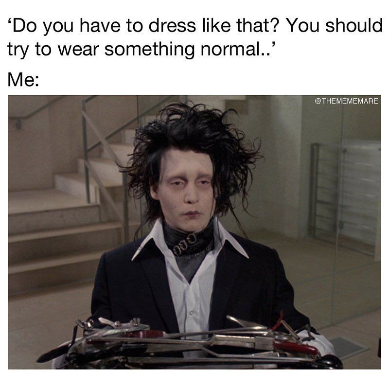 I M Not Normal My Style Is Better Than Yours Goth Gothic