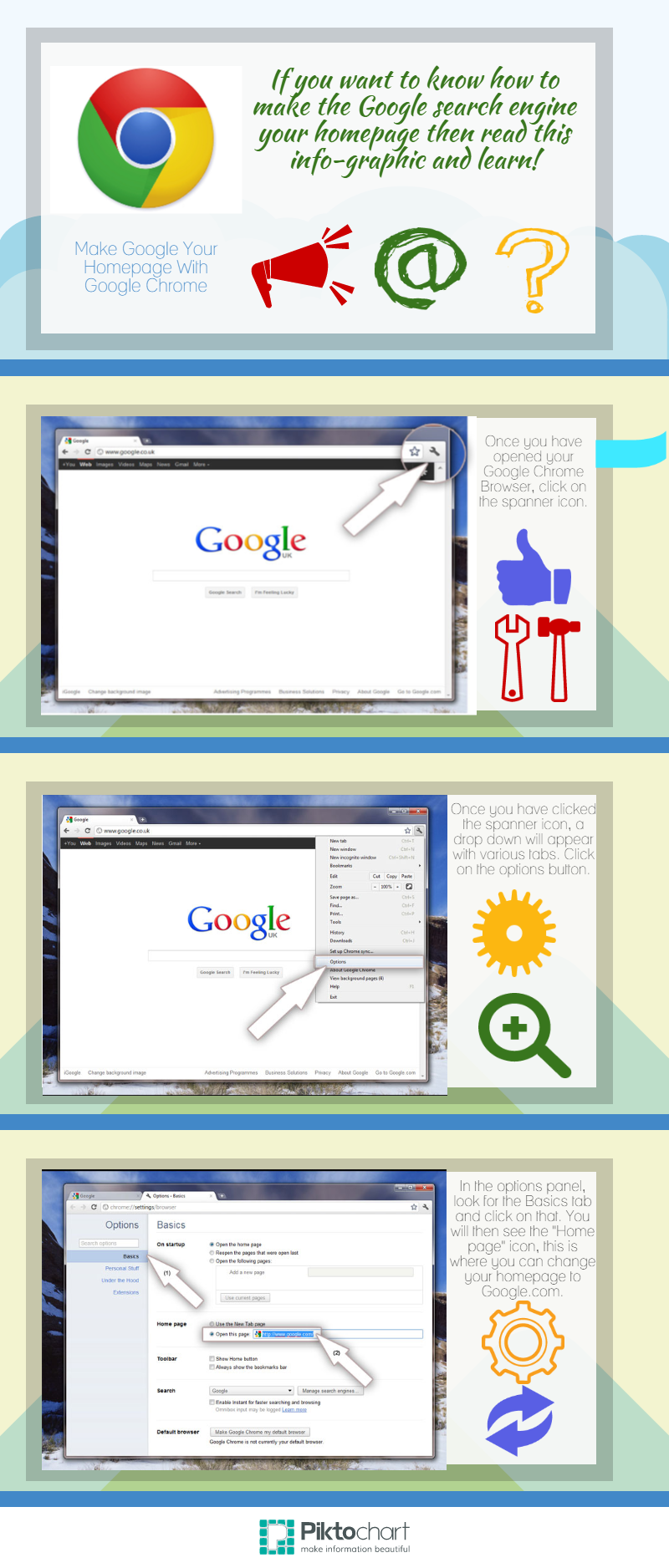 Learn how to make Google your homepage with Google Chrome  | Make