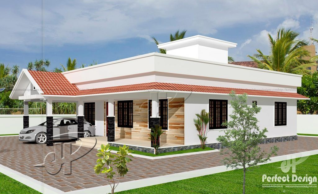 Unfold The Features And Interior Layout Of This Lovely One Story Contemporary House Plan With Roof Dec Contemporary House Plans House Design Photos House Plans