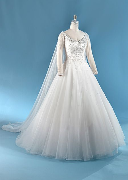 Elsa Gown Collection 6 Alfred Angelo Bridal Collection Disney S Fairy Tale Wedd Disney Wedding Dresses Disney Inspired Wedding Dresses Elsa Wedding Dress