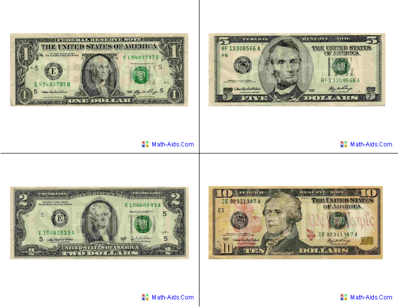Create Your Own Money Worksheets : Flash cards math dynamic worksheet site