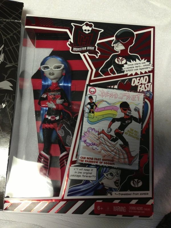Monster High SDCC  Ghoulia Yelps, Frankie Stein, and Scarah Screams | Wonderfinds.com #MonsterHigh