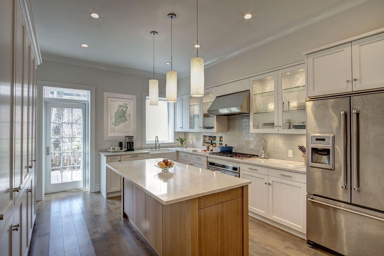 Park Slope Narrow Townhouse Kitchen - Ben Herzog Architect, PC ...
