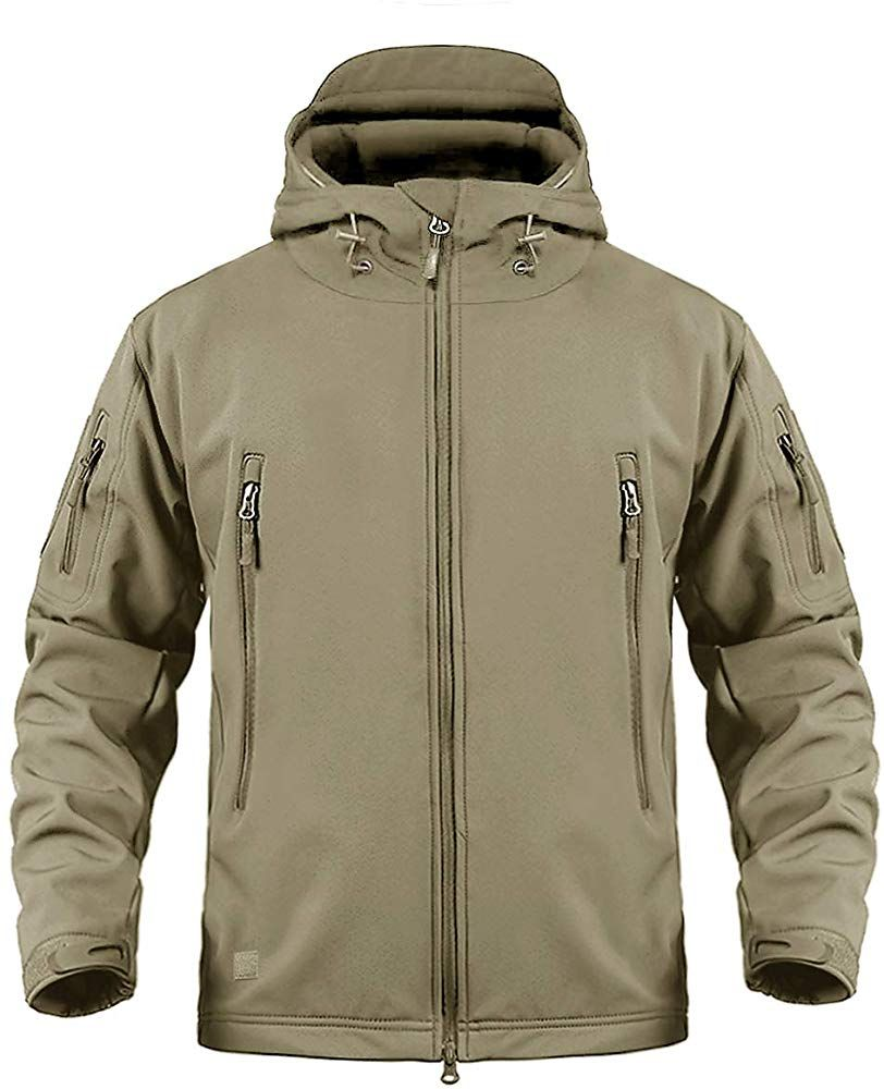 Amazon Com Crysully Military Army Hunting Camo Tactical Soft Shell Fleece Jackets For Men Waterproof Coat Winter Jacket Outfits Outdoor Jacket Tactical Jacket [ 1000 x 812 Pixel ]