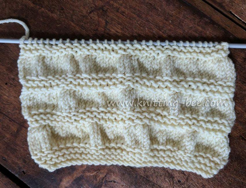 Gathered Stitch Knitting Httpknitting Bee Free Knitting