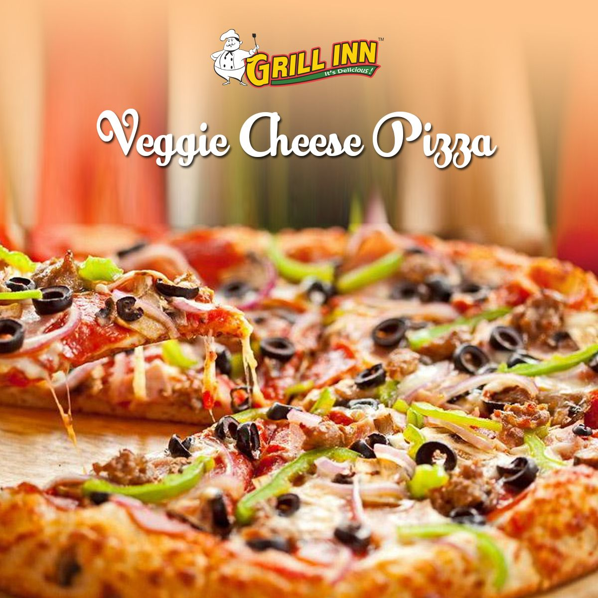 Softer Dough Crunchy Crust And Delicious Cheese Get Your Veggie Pizza Ready In Just Few Minutes Cheesepizza Cheese Veggiep Veggie Cheese Food Veggies