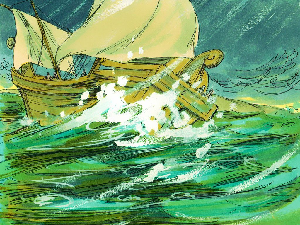 Paul is shipwrecked on his way to Rome. (Acts 27:1-44) – Slide 24 ...
