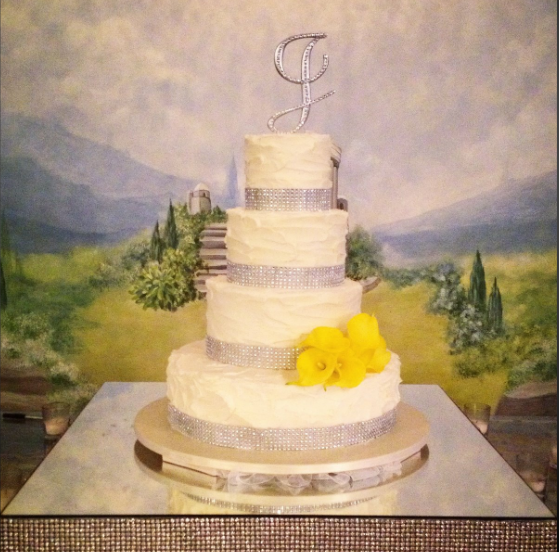 Rustic Lemon wedding cake | Simply Sweet Shop in New Orleans ...