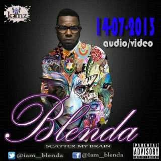 Accueillir en Gbetu TV: New Single: BLENDA- SCATTER MY BRAIN [Prod by SKOBS] @iam_blenda (Audio/Video)