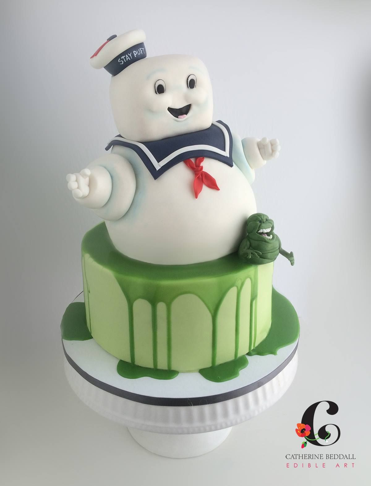 Catherine Beddall Edible Art Ghostbusters cake, Cake