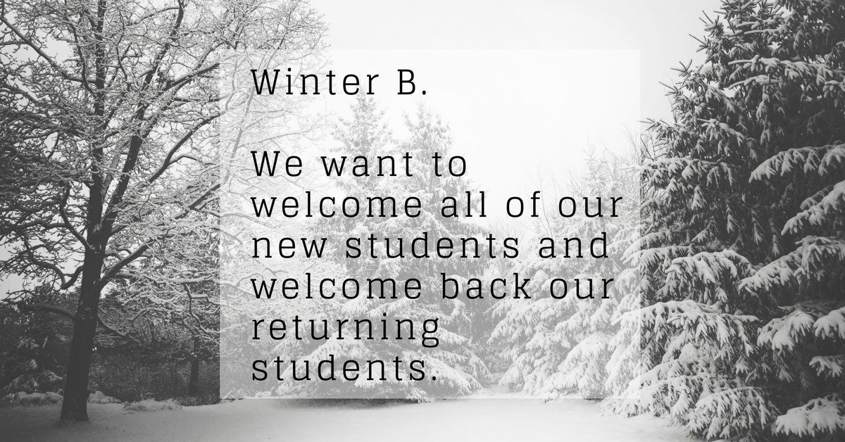 Today is the start of the WIB module! We want to
