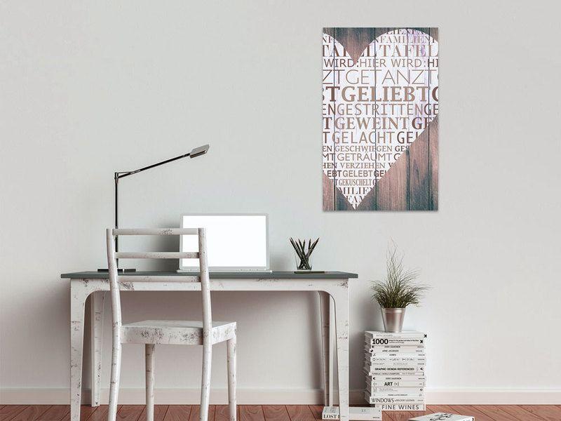 80x50cm Wandbild Sprüche für Wohnzimmer Wörter Html, Products - wanddeko für wohnzimmer