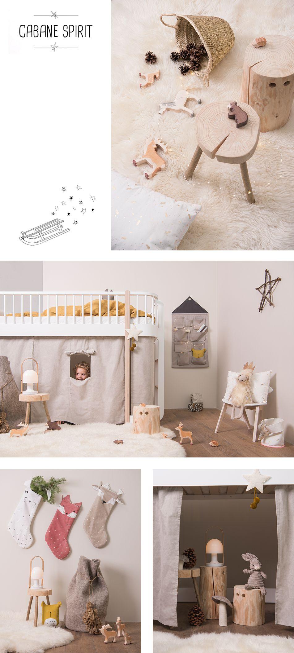 Lit enfant, meubles enfant design et accessoires : Cabane Spirit ...