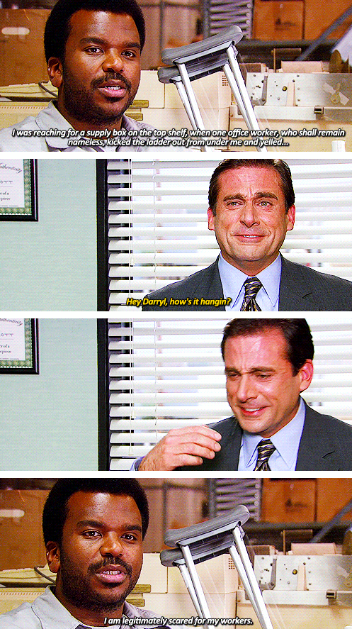 When Michael Laughs Uncontrollably It S Too Funny I 3 The Office