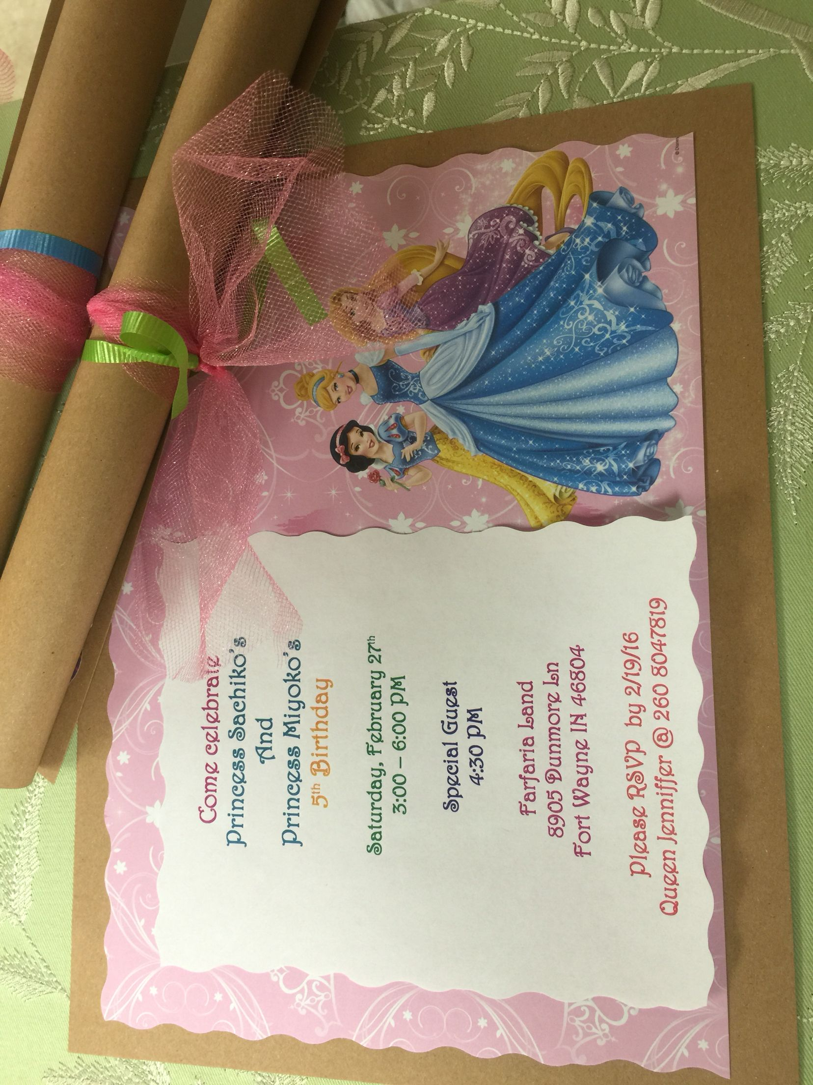 Diy Invitations From Scrapbook Paper Roll It Wrap With