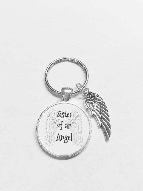 Guardian Angel Sister Of An Angel Remembrance In Memory Wing