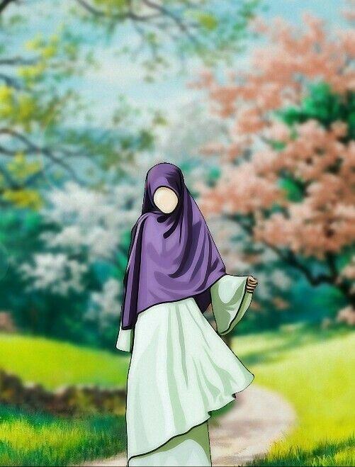 Pin Di Muslimah Animation