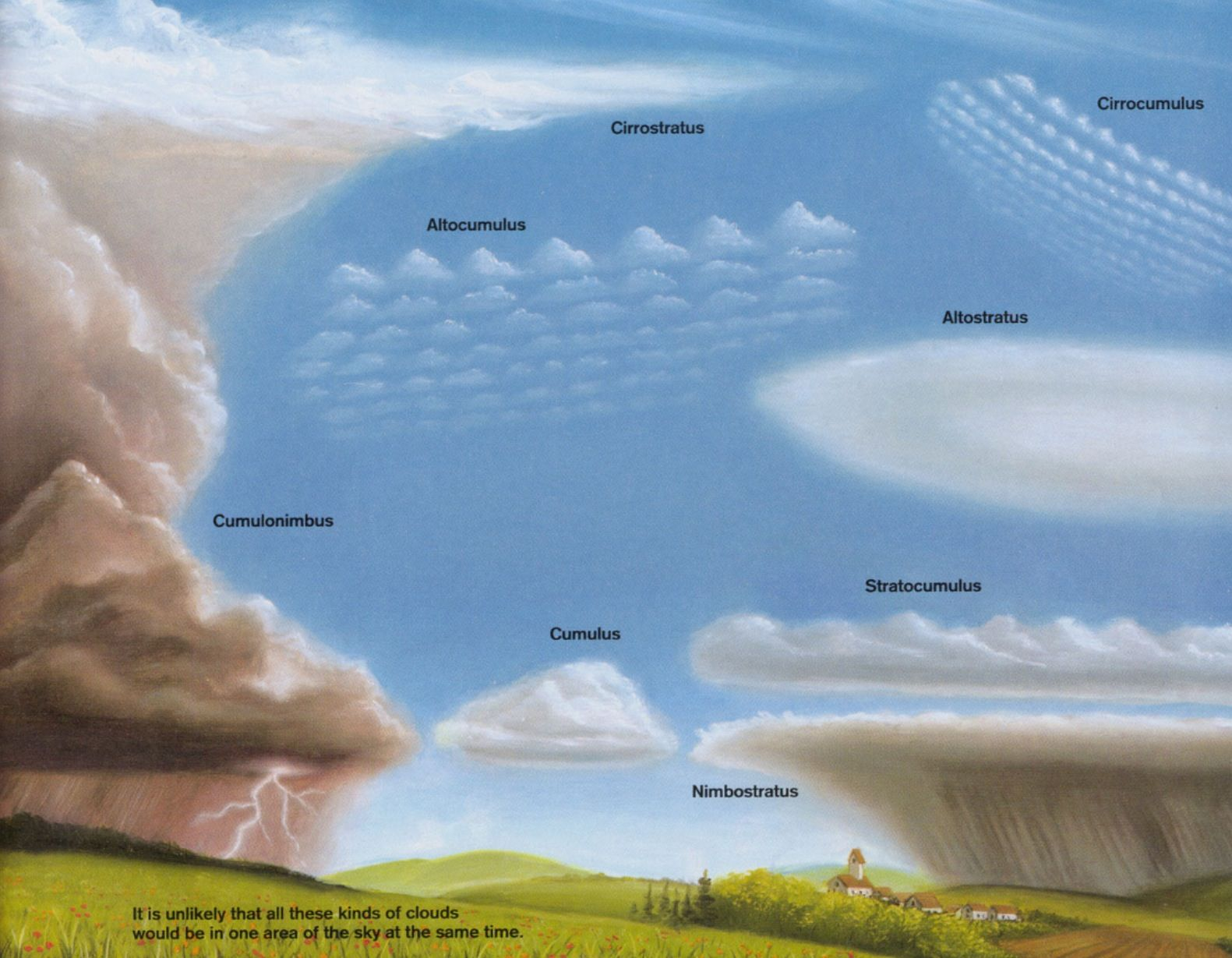Worksheets Types Of Clouds Worksheet cloud types homeschooling pinterest weather and earth types