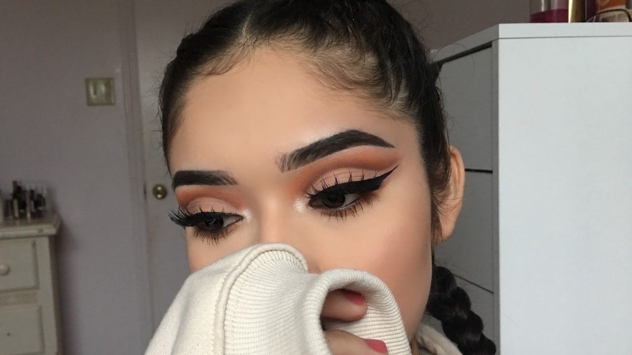 How to achieve a defined cut crease youtube hair n makeup barbie drugstore makeup tutorial on how to achieve a defined cut crease baditri Image collections