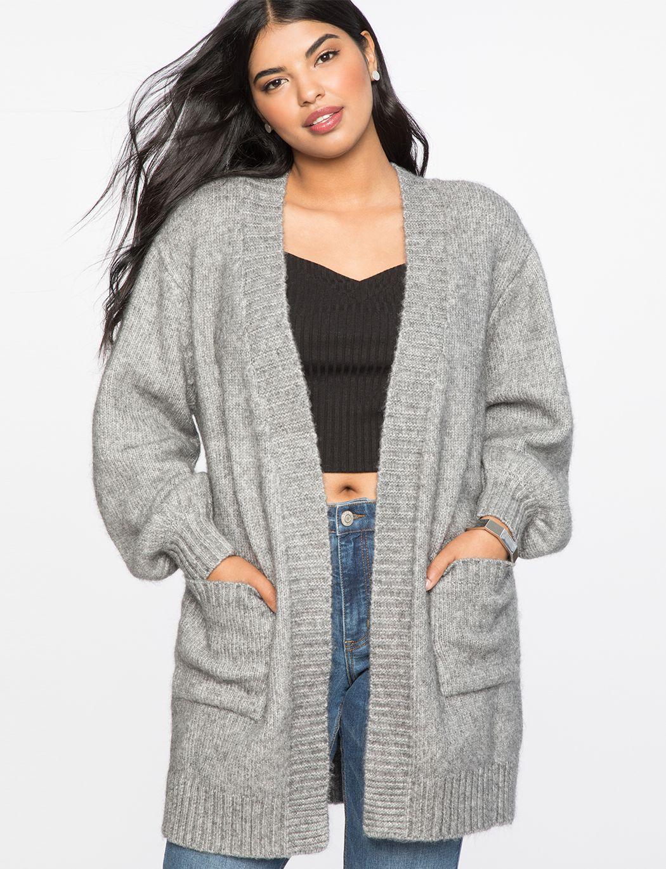 508b68ef110 Boyfriend Cardigan | Women's Plus Size Tops in 2019 | Wardrobe ...
