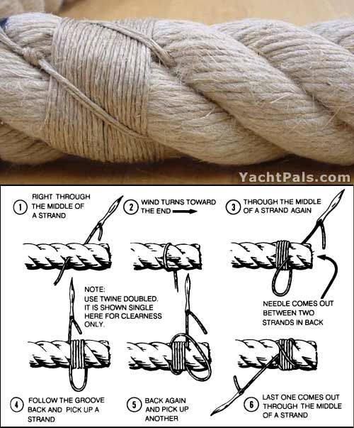 how to make a splice knot