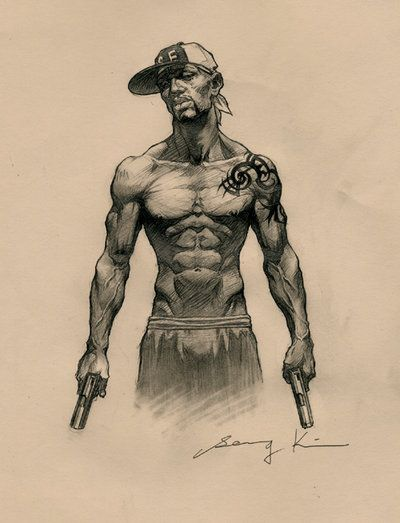 Gangster by kse332.deviantart.com on @deviantART
