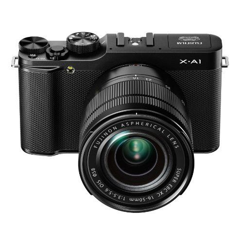 Fujifilm X A1 Kit With 16 50mm Lens Black Camera Freaks System Camera Mirrorless Camera Compact Camera