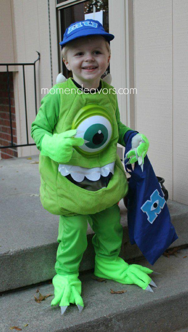 Diy Monsters University Family Costumes Diy Mike Wazowski Costume Monsters Inc Costume Diy Mike Wazowski Costume